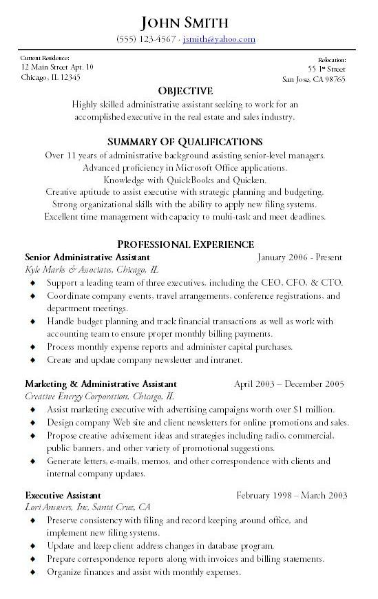 sample resume executive job resume office administrator samples list job resume office administrator samples ncqik limdns - Free Sample Resume For Administrative Assistant
